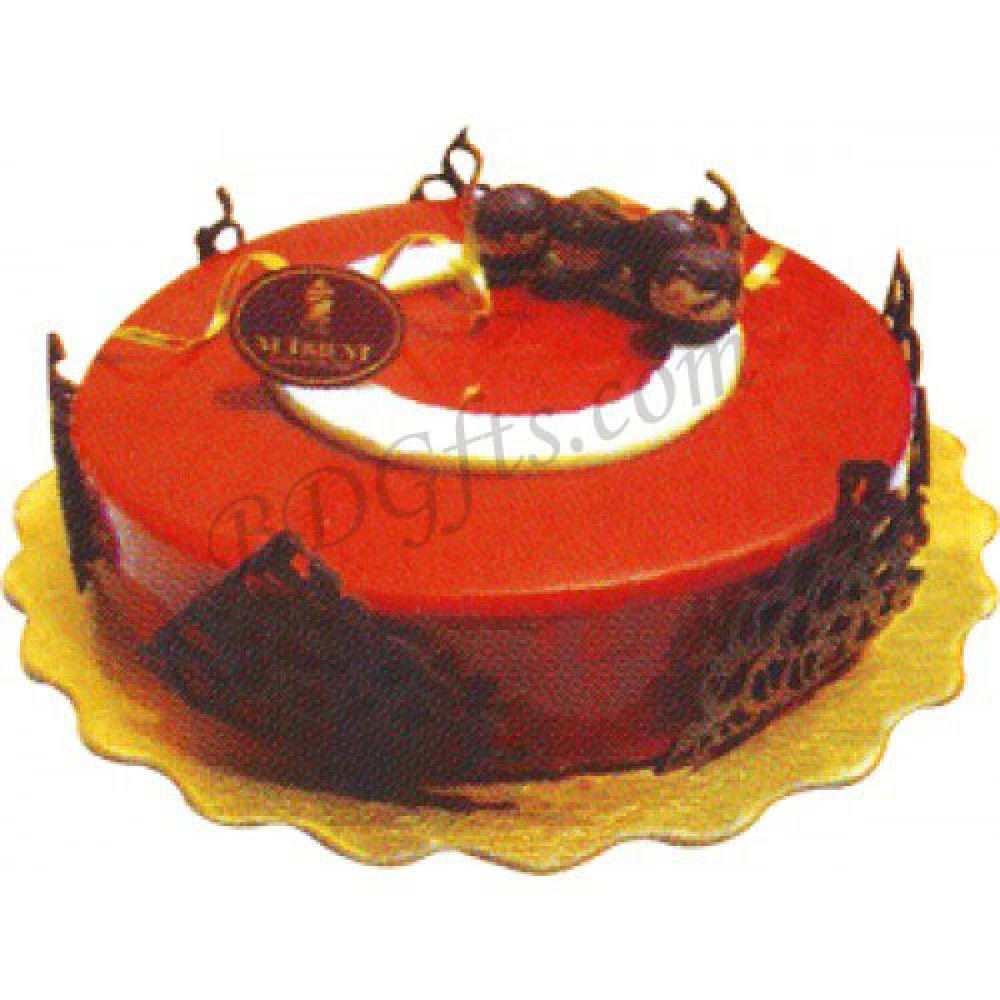 Half kg Caramel cake